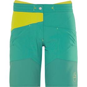 La Sportiva TX Korte Broek Dames, emerald/citronelle